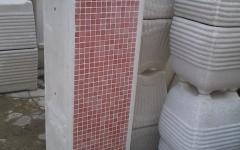 Vaso su misura con mosaico